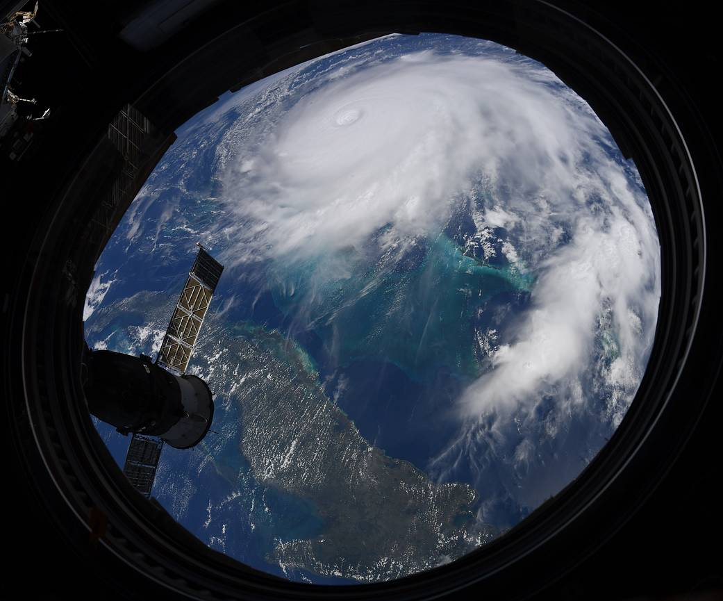 Hurricane Dorian Seen From Aboard the Space Station. Source: Nasa