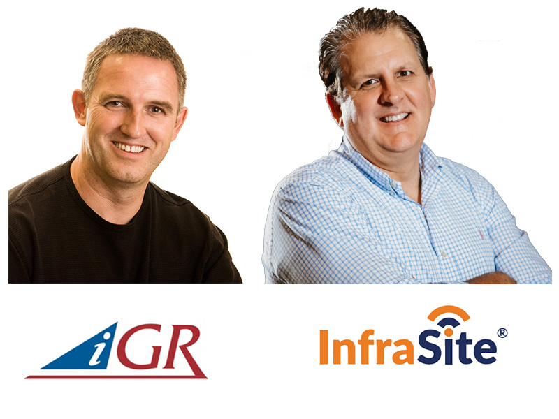 Session Presenter - Iain Gillott, iGR President and Kevin Aycock, InfraSite CEO